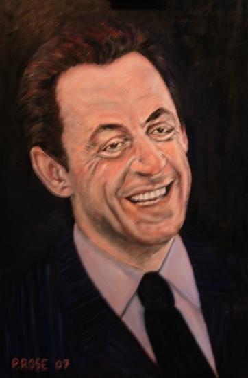 Portrait Of Nicolas Sarkozy By Pr On Stars Portraits